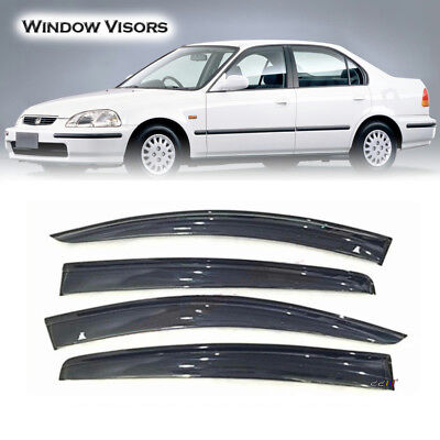 Weather Shield|Window Visor|Deflector For Honda Civic [EK3EK4EK5]4_Door Saloon