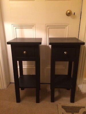 Pair Of Tables height 60cm with and depth 27cm