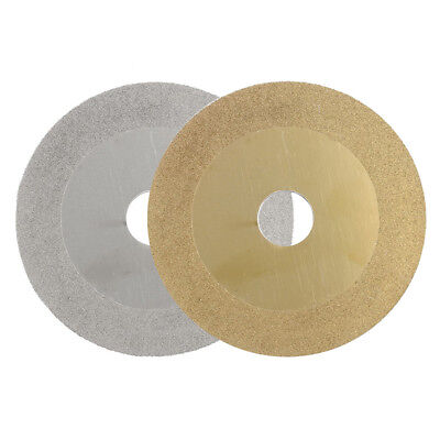 100Mm Diamond Coated Flat Wheel Disc Glass Stone Grinding Cutting Power