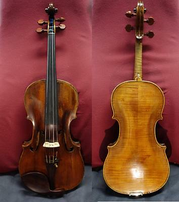 4/4 Old Italian Violin Fine Full Size case and bow Sounds Amazing! 바이올린 バイオリン