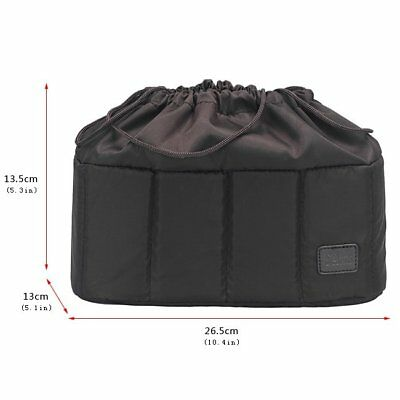 New Selens Flexible Camera insert Partition Padded Bag Case for DSLR SLR Lens