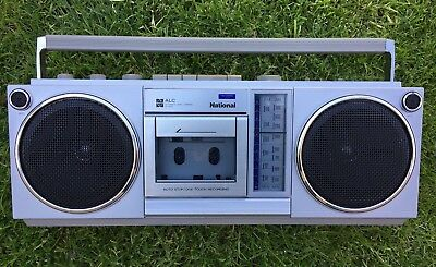 Vintage National Rx-4930 Am-Fm / Fm Stereo Radio Cassette Recorder
