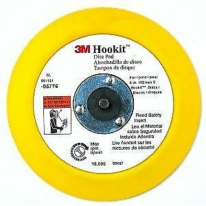 3M 05775 Hookit 5x3/4 Inch Disc Pad, Hook and Loop Attachment