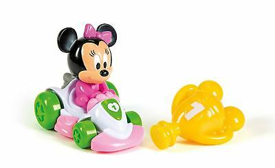Clementoni Minnie Mouse Go Kart with Remote Rattle Infant Toy NEW