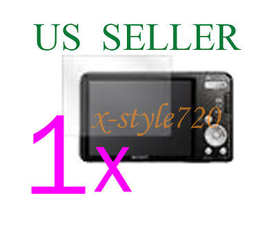 1x Clear LCD Screen Protector Guard Cover Film For Sony CyberShot DSC-W570