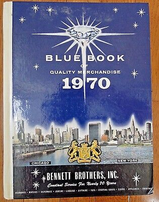 1970 Bennett Brothers Blue Book of Quality Merchandise - hardcover catalog 47 yr