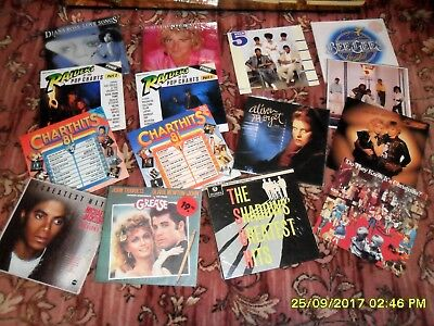 RECORDS VINYL  LP'S AND 45s + MUSIC TAPES