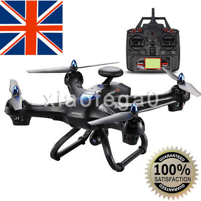 Global Drone 6-axes X183 With 2MP WiFi FPV HD Camera GPS Brushed Quadcopter UK