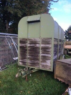 Rice Single Axle Horsebox/Trailer