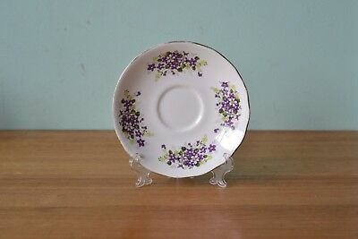 Vintage fine china saucer / plate  Queen Anne D57 1