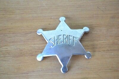 Vintage Official Sheriff badge Japan 1950