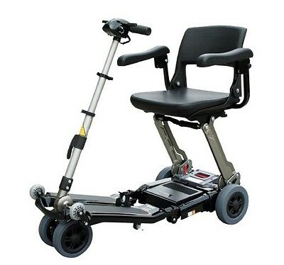 Luggie Elite Portable Folding Lightweight Mobility Scooter Electric chair