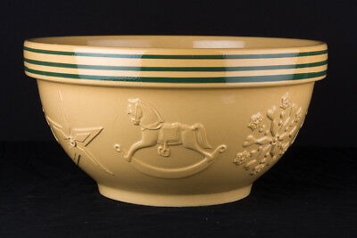 "Christmas special ""Williams-Sonoma"" Made in England mixing/baking bowl."