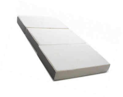 Milliard 6-Inch Memory Foam Tri-fold Mattress with Ultra Soft Removable Cover wi