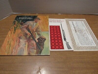 Winchester 1970 Sporting Arms Magazine & 1200 Shotgun Brochure Included