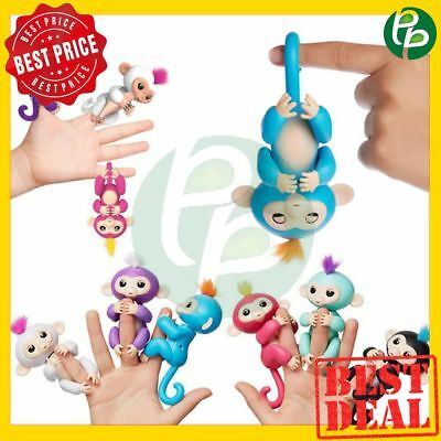 2017 Interactive Pet Electronic Monkey Sound Finger Motion Hanger Toy Gift NEW