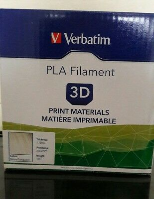 Verbatim PLA Filament Natural Transparent 1KG