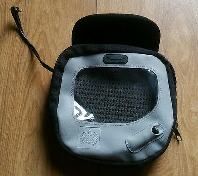 Ministry of Sound CD Player Travel Case with internal Headphone Connection