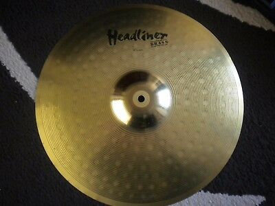 CYMBALE Headliner 16 crash MEINL made in Germany