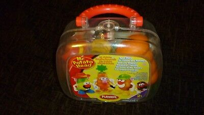 Mr Potato Head bundle 3 full body and heads  NEW SEALED SUITCASE by PLAYSKOOL