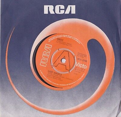 "The Sweet - Lost Angels  - Uk A Label Demo 7"" - Rca 2748 Nm"
