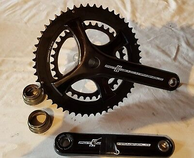 Campagnolo Potenza 52/36 Chainset, used once.