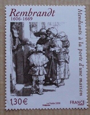 Timbre France : Rembrandt 3984 Neuf