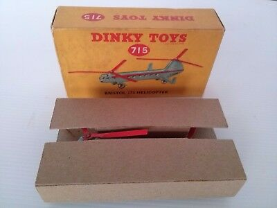 Early Dinky 715  Bristol 137 Helicopter.