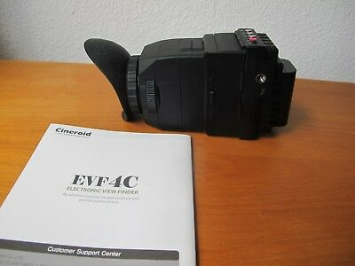 Cineroid EVF4C Electronic Viewfinder Top Zustand !