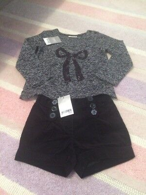 BNWT Next Girls Shirts And Top Outfit Age 3-4 Gorgeous