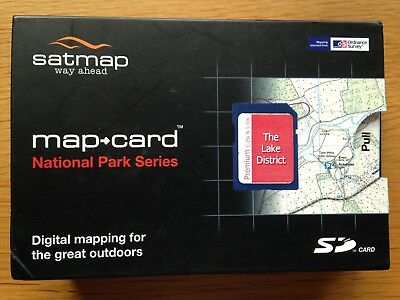 SATMAP active 10 Sports GPS with Case, Maps of Ben Nevis,Loch Lomond and Lakes