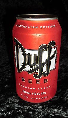 One Can Of Collectable Usa Duff Beer. Original Condition Unopened,simpsons