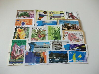 World Charity Commemoratives Kiloware Including Many Recent Issues 50 Stamps