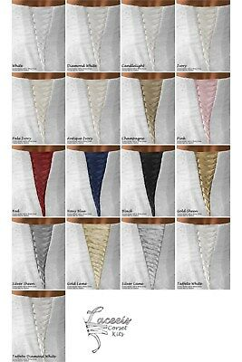 """Laceeis STD 7"""" MODESTY PANEL ONLY FOR Corset Kit Makes Gown Fit  All Colors"""