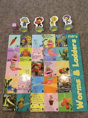 fifi and the flowertots Jigsaw And Game