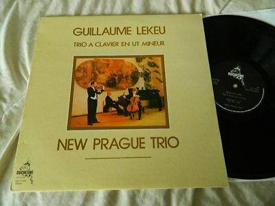 NEW PRAGUE TRIO -LEKEU TRIO -PIANO TRIO -DUCHESNE DD 7 149 STEREO - TOP! Ex+/ Ex