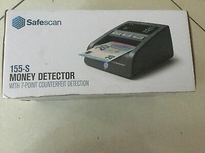 False money detector SAFESCAN 155s for EUR, PLN, HUF, GBP and CHF