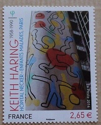 Timbre France Keith Haring 4901 Neuf