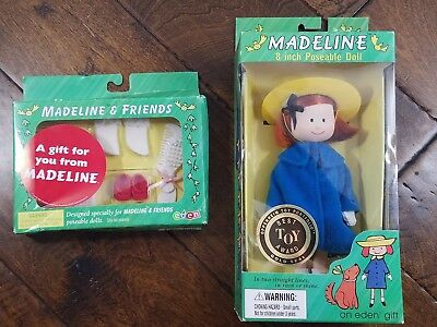 Sealed Madeline 8 Inch Posable Doll with New Accessories Set 1996 Vintage