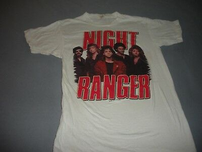 RARE New Unsold, Unwashed  Vintage 1984 NIGHT RANGER Midnight Madness T-Shirt M