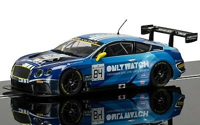 C384 Scalextric Bentley Continental GT3 - Team HTP Moscow - No.84 - New & Boxed