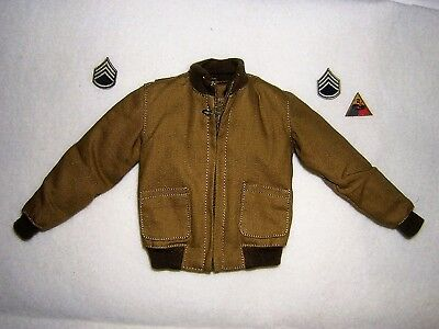 DiD 1/6th Scale WW2 U.S. Army Tanker's Jacket & Insignia  - Donald