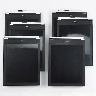 Fidelity Deluxe 8x10 sheet film holder, lot of 6