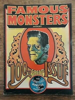 Famous Monsters of Filmland 100th Issue by Warren Publishing