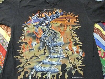 MEGADETH youthinasia concert shirt sz L excellent cond.