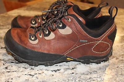 PATAGONIA DRIFTER GORE-TEX BRINDLE BROWN men's 10  leather hiking boots Vibram