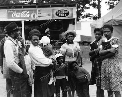Black Family & Antique Soda Booth Signs Professional Photo Lab Reprint