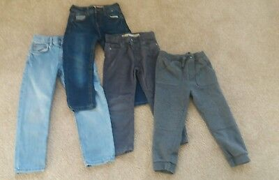 Boys Trousers Jean Bundle age 4-5 years