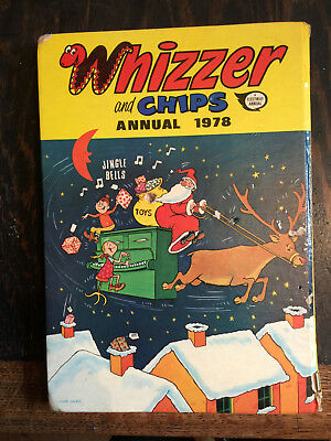 Whizzer and Chips Annual 1978 Christmas edition