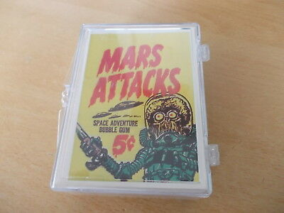 Mars Attacks Trading Cards 1984 Reprints Complete Set